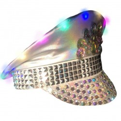 Festival Hat Light Up - Silver