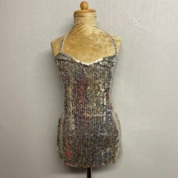 Kiki Sequin Dress - Silver