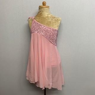 Tangled Waters Chiffon Dress Light Pink