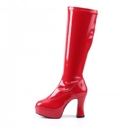 Pleaser Exotica 2000 Red Patent