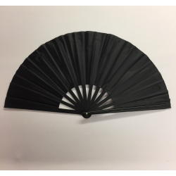 Plastic Handle Clacking Fan Black