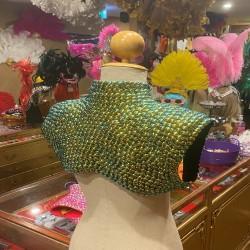 Pop Sequin Shoulder Shrug Emerald Green