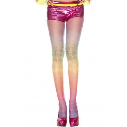 Music Legs Rainbow Spandex Lace Pantyhose