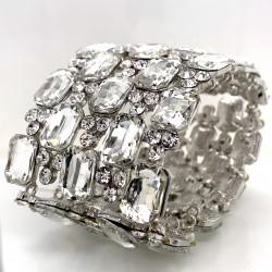 Clear Crystal Diamante Bracelet No 2