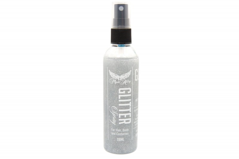 Mad Ally Glitter Body Spray Silver