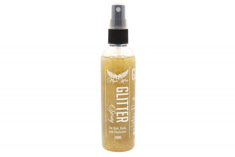 Mad Ally Glitter Body Spray Gold