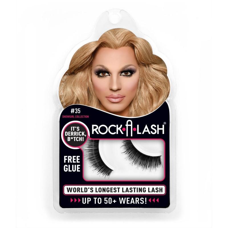 ROCK-A-LASH ® #35 - IT'S DERRICK B*TCH- SHOWGIRL