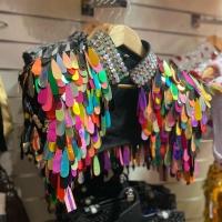 Sparkling ✨✨✨ #mardigras #costume #gliter #sprakling #🌈 #❤️