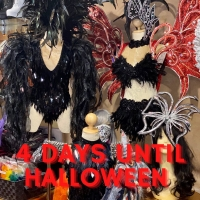 Only 4 more days until Halloween- be sure to come in store or shop online for all of your last minute costume needs www.houseofpriscilla.com.au #houseofpriscilla #halloween #halloweencostumes