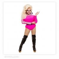 Diamond bodysuit more colours check on our website #costume #houseofpriscilla #pinkbodysuite #🌈 #❤️