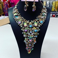 Today spring special . Large Diamante Necklace Set $50.00 Phone order only 02 92863023 #diamante #showgirl #dragqueen #party #prom
